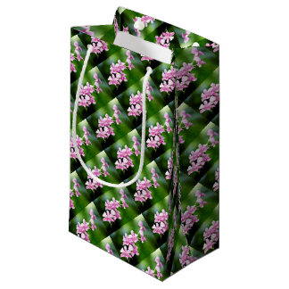 orchid small gift bag