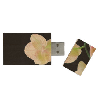 Orchid USB Flash Drive Wood USB 2.0 Flash Drive