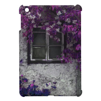 Orchid Vines, Window and Gray Stone Case For The iPad Mini