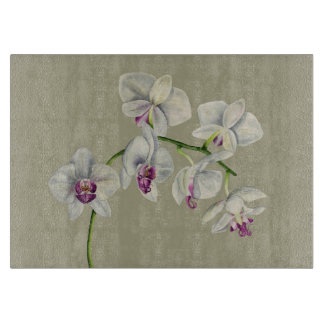 Orchid Watercolor Painting Boards