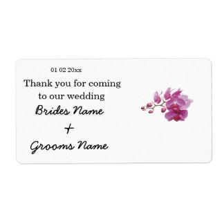 Orchid Wedding Souvenirs Keepsakes Giveaways