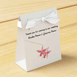 Orchid Wedding Souvenirs Keepsakes Giveaways Favor Box