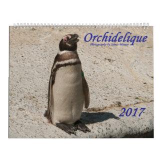 Orchidelique's 2017 Animal Calendar