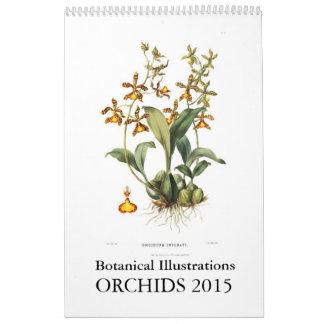 Orchids 2015 calendar