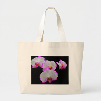 Orchids 3 large tote bag