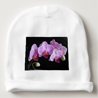 orchids-837420_640 baby beanie