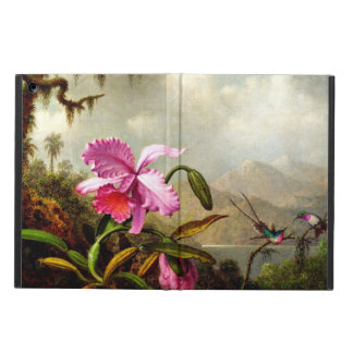 Orchids and Hummingbirds near a Mountain Lake Case For iPad Air
