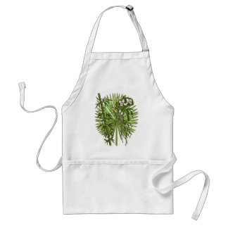 Orchids and more adult apron
