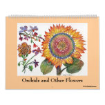 Orchids and Other Flowers Wall Calendars