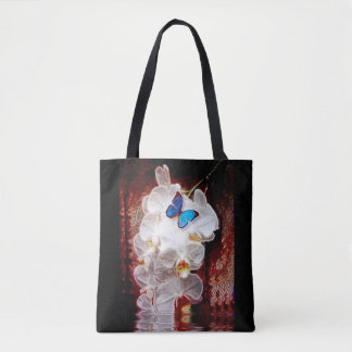 Orchids and the Butterfly Tote