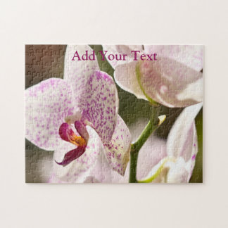 Orchids by Shirley Taylor Jigsaw Puzzle