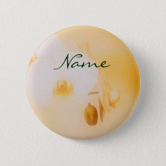 Orchids - customizable 2 inch round button
