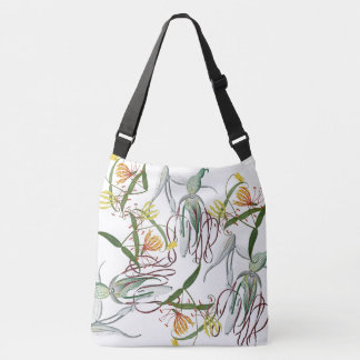 Orchids Glory Lily Flowers Tropical Tote Bag
