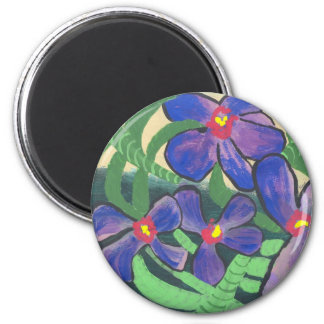 Orchids in Shade Magnet