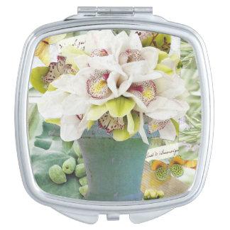 Orchids Makeup Mirror