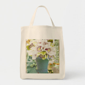Orchids Market Tote Bag