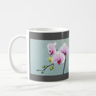 Orchids on Aqua`- Done Tai Chi today? Coffee Mug