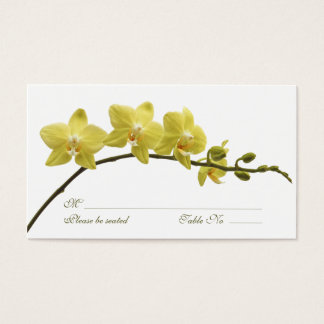 Orchids Special Occasion Place Card