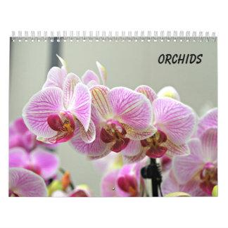 Orchids Wall Calendar