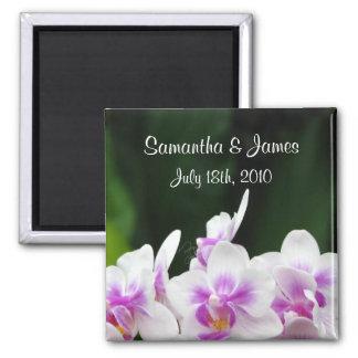 Orchids Wedding Magnet