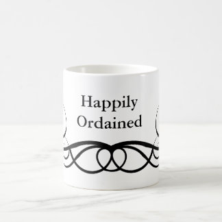 Ordained MINISTER GIFT Basic White Mug