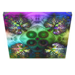 Order at the Root of All Chaos V4 Wrapped Canvas Canvas Prints