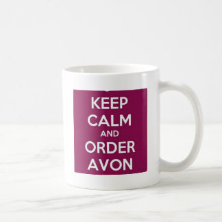 Order Avon Classic White Coffee Mug
