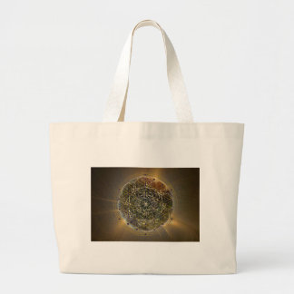 Order in the Chaos Large Tote Bag