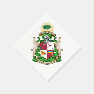 Order of Saint Luis Coat of Arms Napkins
