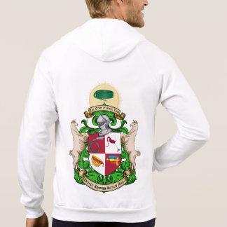 Order of Saint Luis Front Zip Hooded Sweatshirt