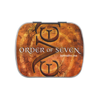 Order of Seven candy tin