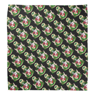 Order of St. Luis Coat of Arms Patterned Bandana