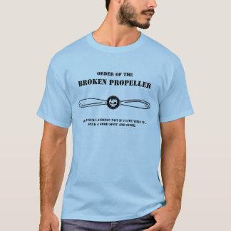 Order of the, Broken Propeller - Blue T-shirt