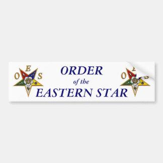 ORDER of the EASTERN STAR Bumper Sticker