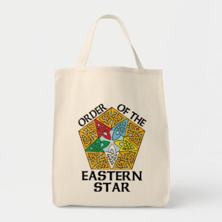 Order of the Eastern Star Celtic Knot design Tote Bag