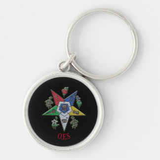 Order Of The Eastern Star Keychain