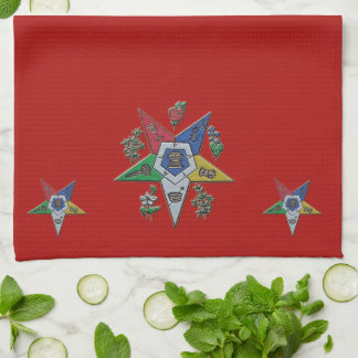 Order Of The Eastern Star Kitchen Towel