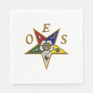 ORDER of the EASTERN STAR LUNCHEON NAPKINS Disposable Napkins