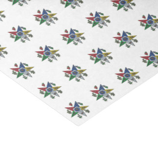 Order Of The Eastern Star Tissue Paper