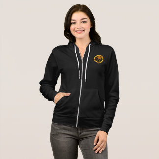 Order of the Lily Women's Zip-Up Hoodie