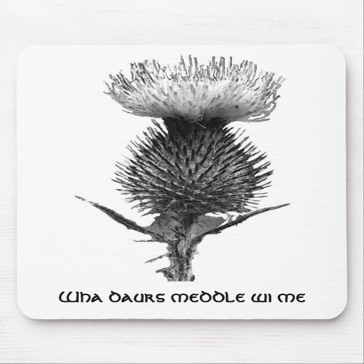 Order Of The Thistle Mouse Pad