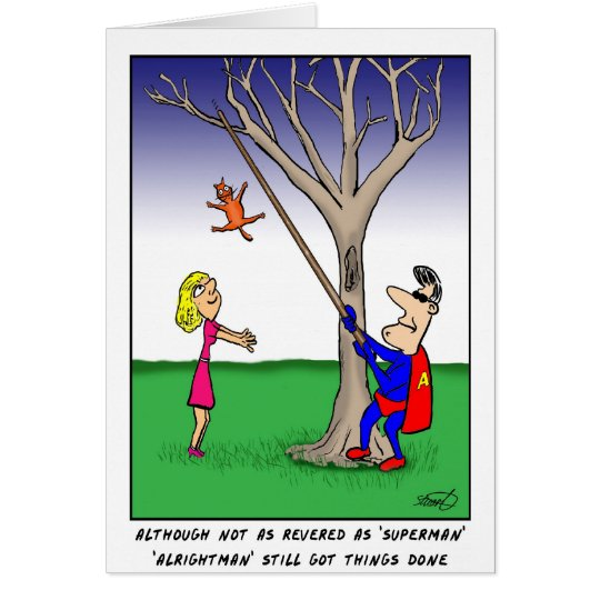 Ordinary Superhero - Father's Day Card. Card
