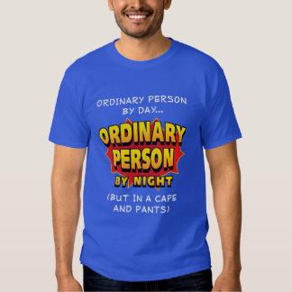 Ordinary Superhero T-shirts