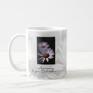 Ordination Anniversary, Aster Coffee Mug