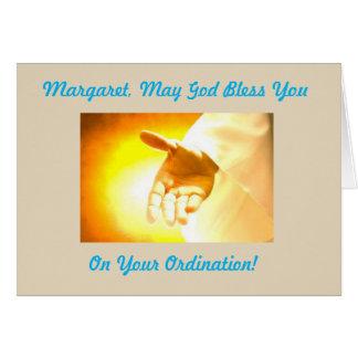 Ordination Card