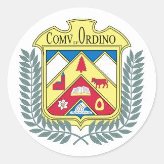 Ordino, Andorra Classic Round Sticker