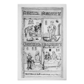 Ordonnance des boulangers de York, 1595-96 Poster
