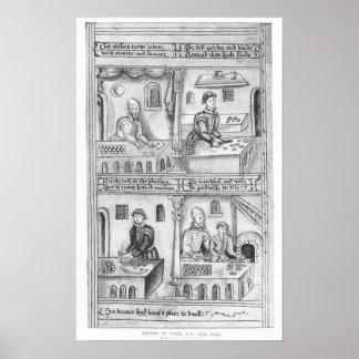 Ordonnance des boulangers de York, 1595-96 Affiche