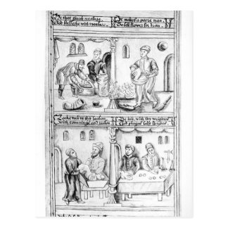 Ordonnance des boulangers de York, 1595-96 Carte Postale