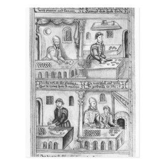 Ordonnance des boulangers de York, 1595-96 Cartes Postales